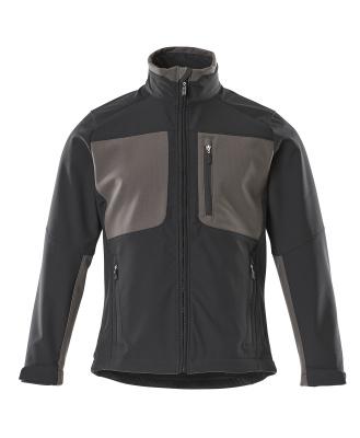 50057-824-0918 Softshelljacka - svart/mörk antracit