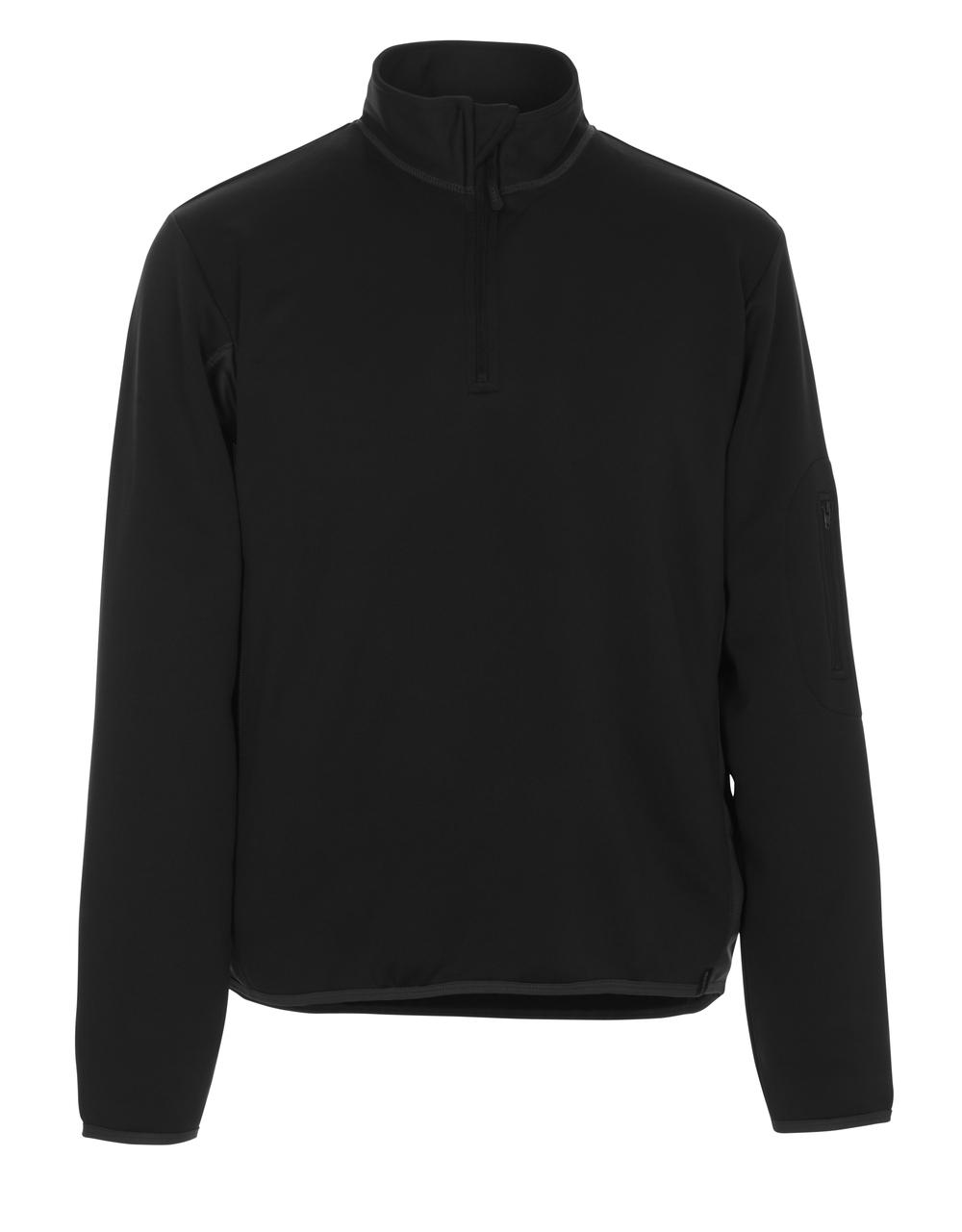 50068-828-0918 Pikésweatshirt - svart/mörk antracit