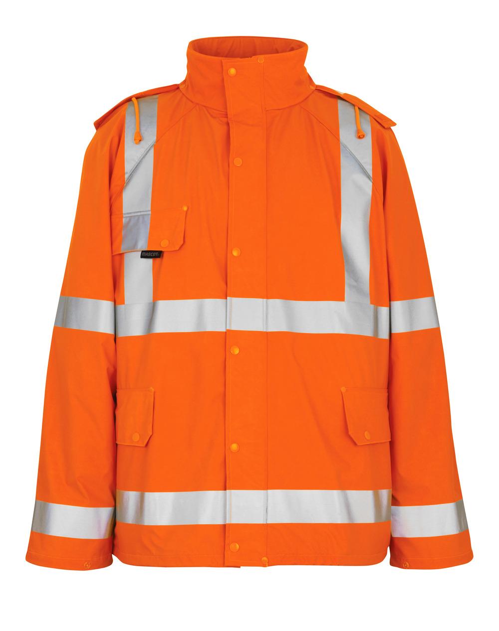 50101-814-14 Regnjacka - hi-vis orange