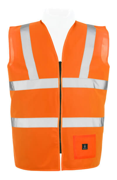50107-310-14 Trafikväst - hi-vis orange