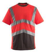 50118-949-A49 T-shirt - hi-vis röd/mörk antracit