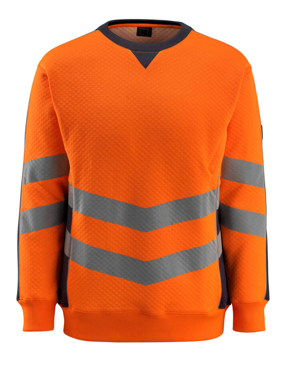 50126-932-14010 Sweatshirt - hi-vis orange/mörk marin