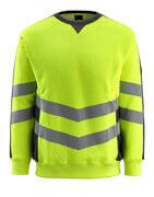 50126-932-1709 Sweatshirt - hi-vis gul/svart