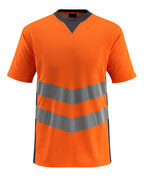 50127-933-14010 T-shirt - hi-vis orange/mörk marin