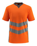 50127-933-1418 T-shirt - hi-vis orange/mörk antracit