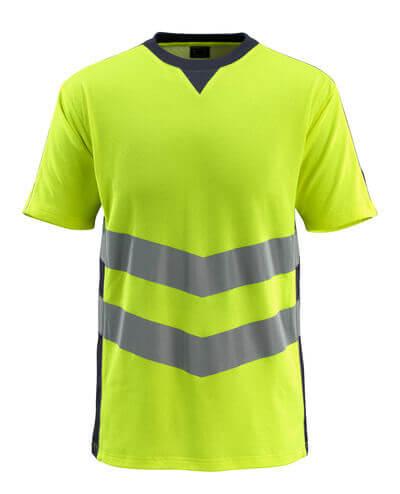 50127-933-14010 T-shirt - hi-vis orange/mörk marin
