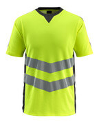 50127-933-1709 T-shirt - hi-vis gul/svart