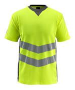 50127-933-1718 T-shirt - hi-vis gul/mörk antracit