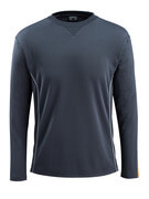 50128-933-0917 T-shirt, långärmad - svart/hi-vis gul