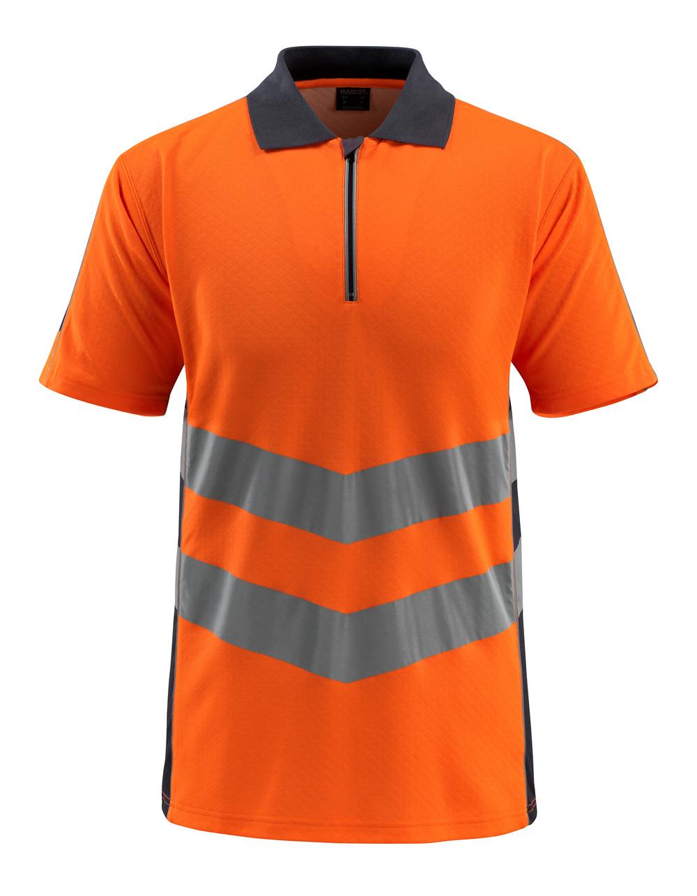 50130-933-14010 Pikétröja - hi-vis orange/mörk marin