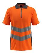 50130-933-1418 Pikétröja - hi-vis orange/mörk antracit