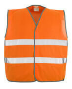 50187-874-14 Trafikväst - hi-vis orange
