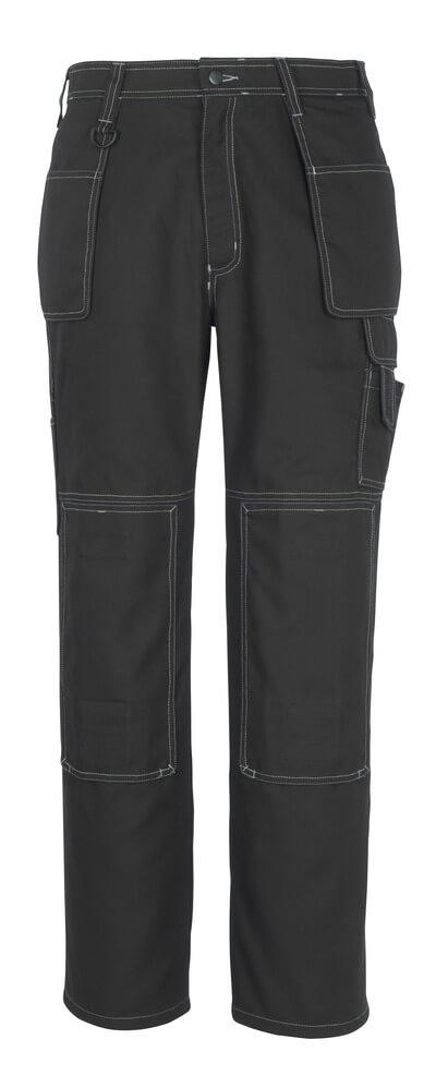 50194-884-09 Byxor med knä- och hängfickor - svart