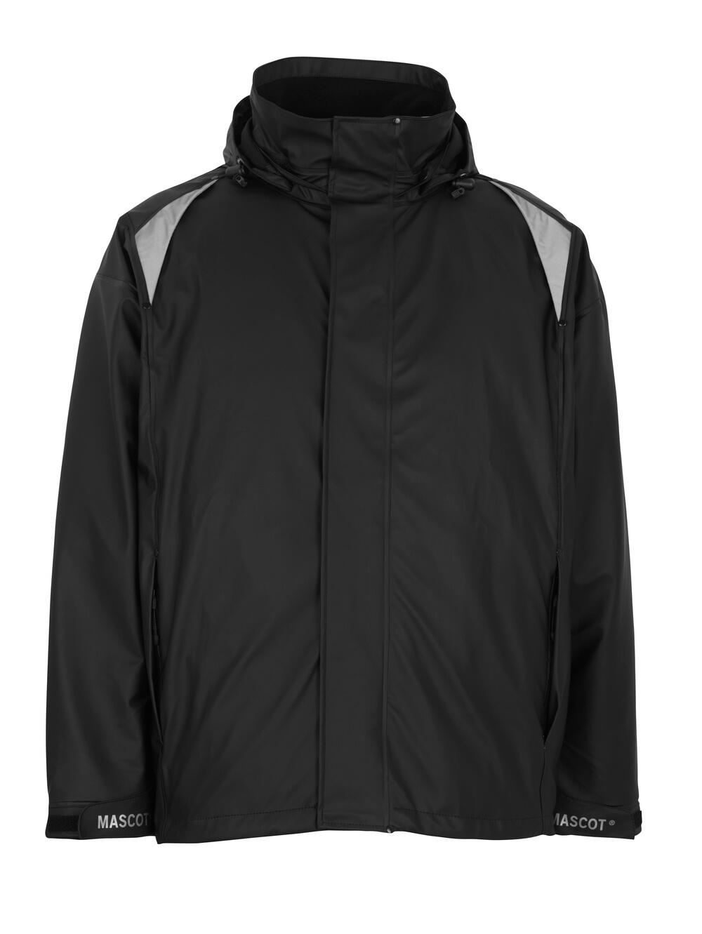 50202-859-09 Regnjacka - svart