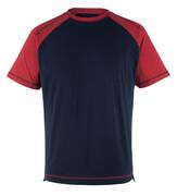 50301-250-12 T-shirt - marin/röd