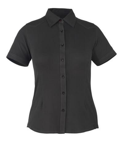50374-863-09 Skjorta, kortärmad - svart