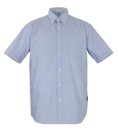 50377-887-B13 Skjorta, kortärmad - oxford blå