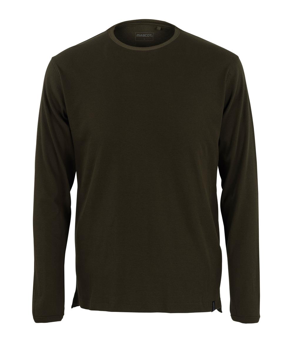 50402-865-19 T-shirt, långärmad - mörk oliv