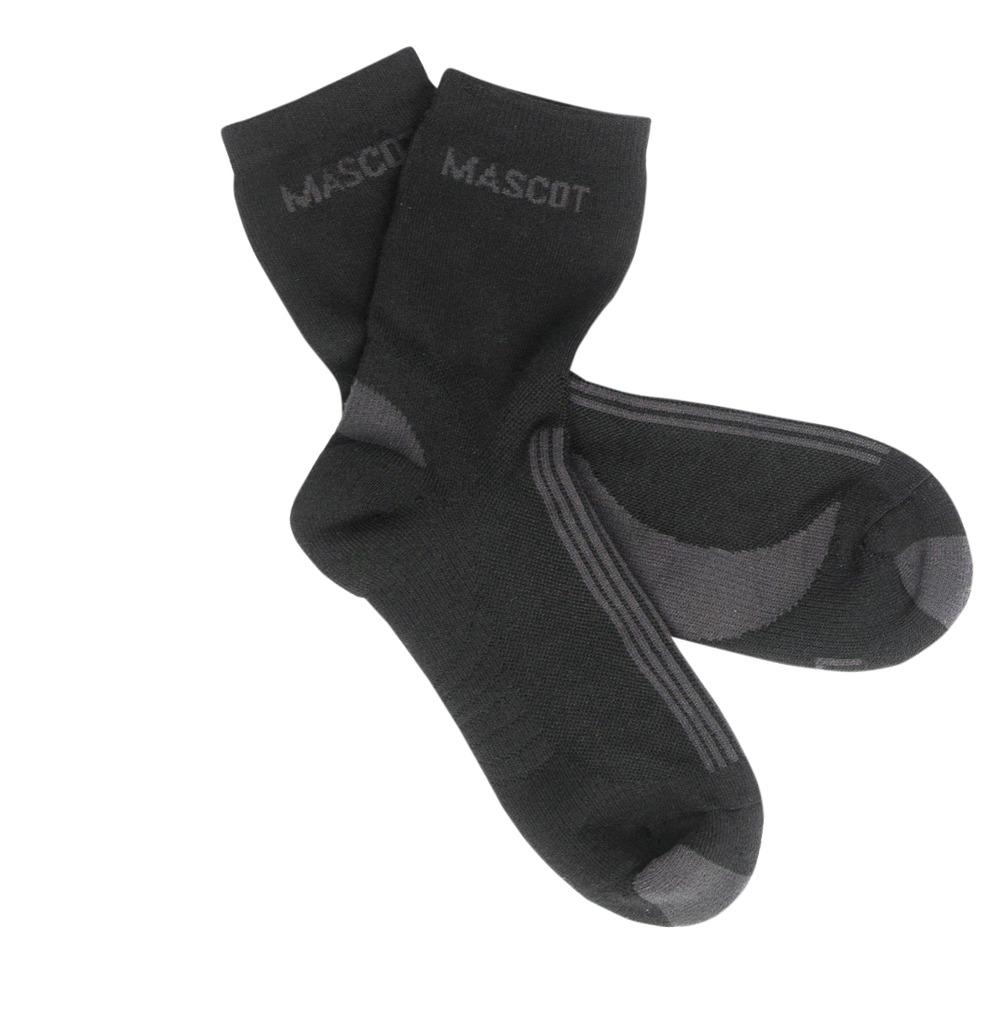 50410-881-0918 Sockor - svart/mörk antracit