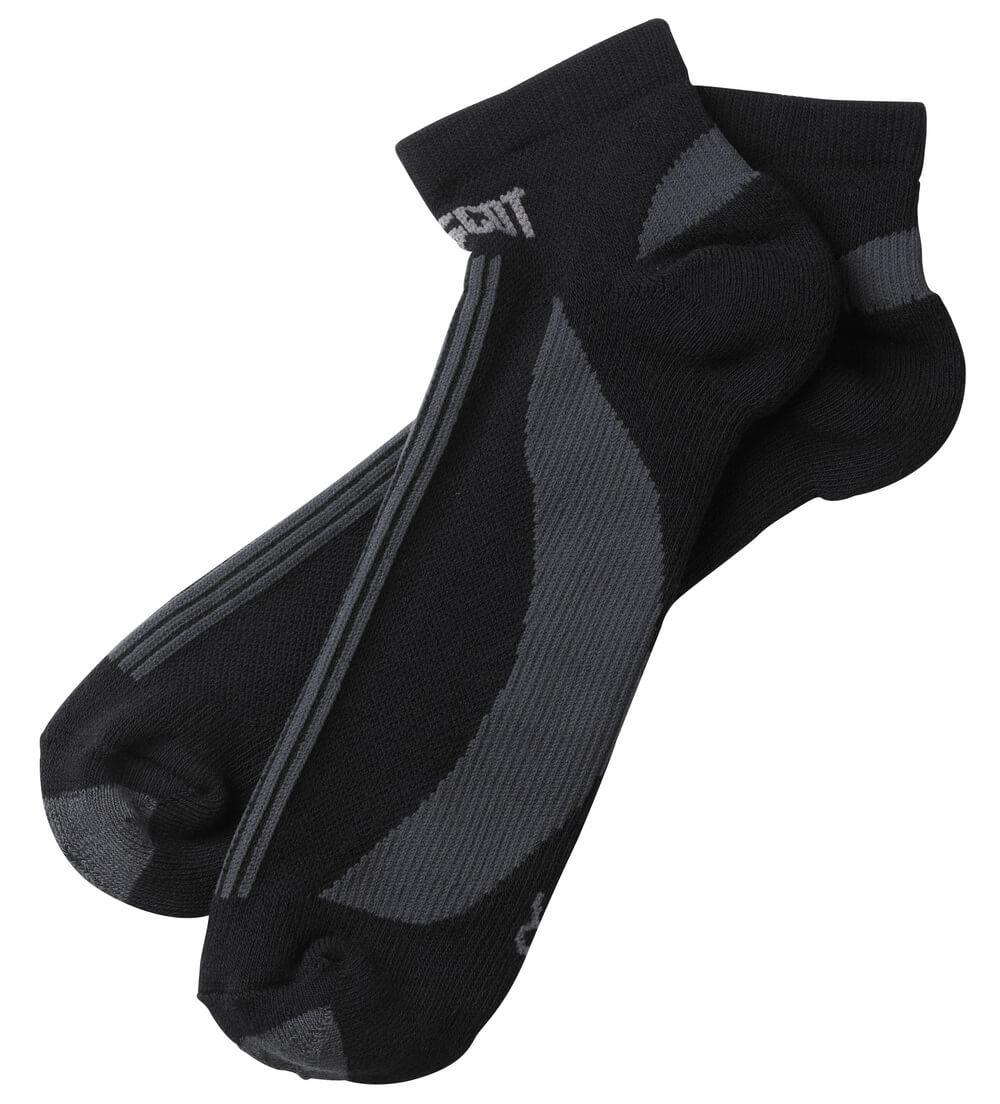 50411-881-0918 Sockor - svart/mörk antracit