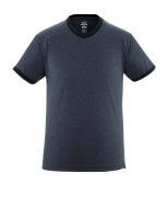 50415-250-66 T-shirt - tvättad mörk blå denim