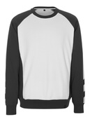 50503-830-0618 Sweatshirt - vit/mörk antracit