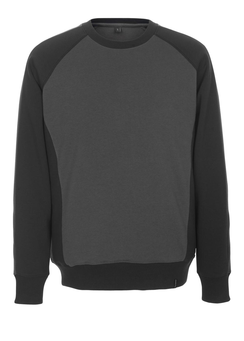 50503-830-1809 Sweatshirt - mörk antracit/svart