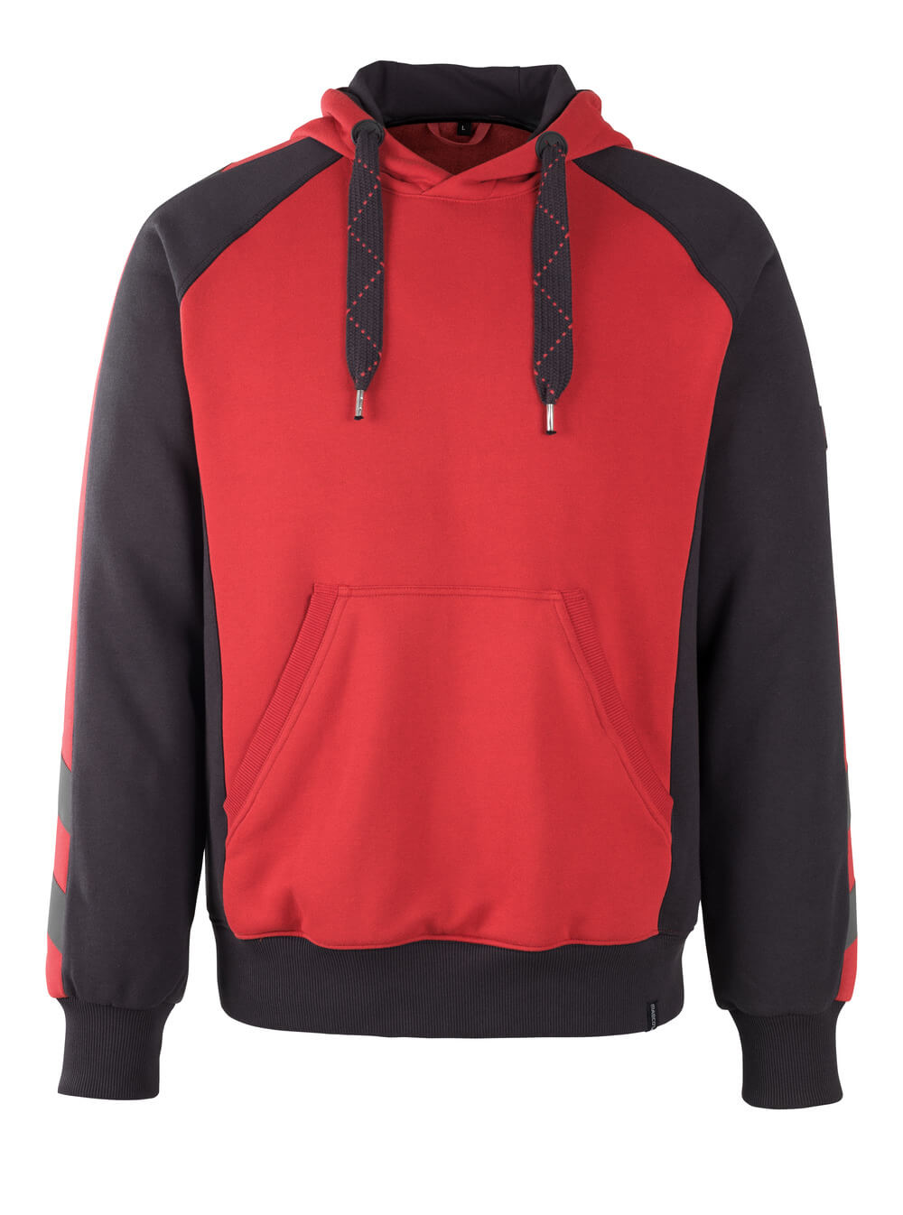 50508-811-0209 Huvtröja - röd/svart