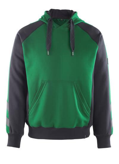50508-811-0309 Huvtröja - grön/svart