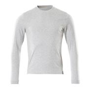 50548-250-08 T-shirt, långärmad - grå-melerat