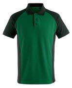 50569-961-0309 Pikétröja - grön/svart