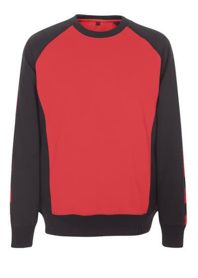 50570-962-0209 Sweatshirt - röd/svart