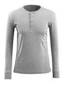 50581-964-08 T-shirt, långärmad - grå-melerat