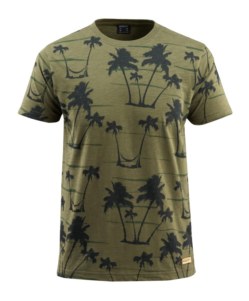 50596-983-33 T-shirt - mossgrön