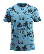 50596-983-85 T-shirt - stenblå