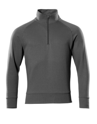 50611-971-010 Sweatshirt med kort blixtlås - mörk marin