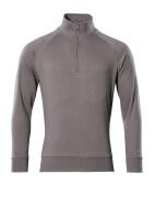 50611-971-888 Sweatshirt med kort blixtlås - antracit