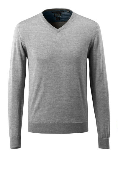 50635-989-010 Stickad tröja - mörk marin