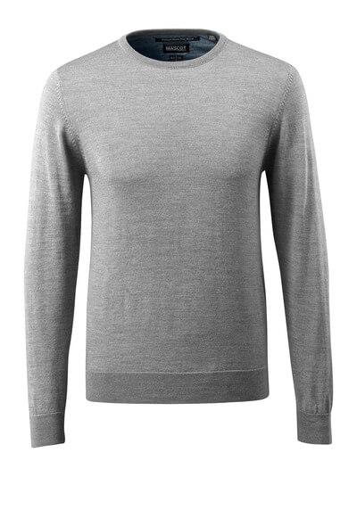 50636-989-010 Stickad tröja - mörk marin