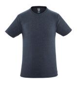 51579-965-66 T-shirt - tvättat mörk blå denim
