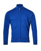 51591-970-11 Sweatshirt med blixtlås - kobolt