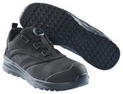 F0251-909-0909 Skyddsskor - svart/svart