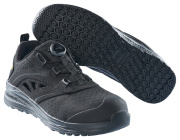 F0252-909-0909 Skyddssandaler - svart/svart