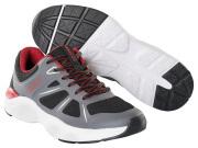 F0950-909-A84 Sneakers - svart/mörk antracit/röd